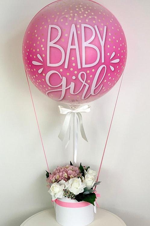 Baby Girl Hot Air Balloon