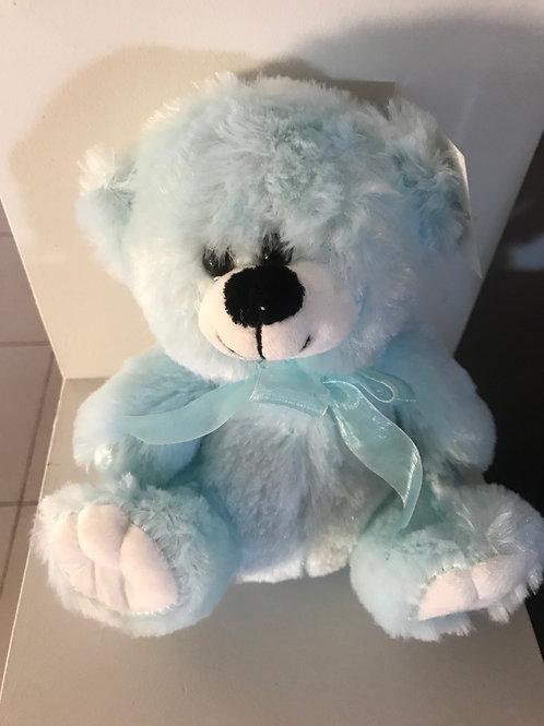 Blue Teddy Bear 20cm