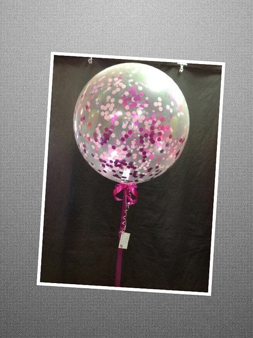Large Helium Confetti Balloon