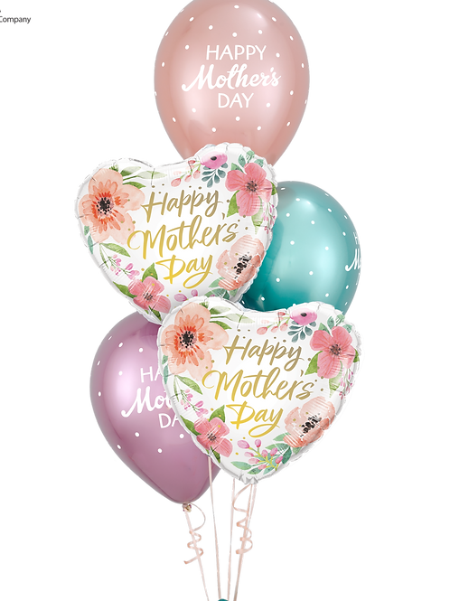 Mother's Day Chrome Balloon Bouquet