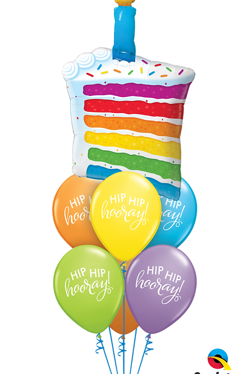 Have a Piece of Cake Balloon Bouquet