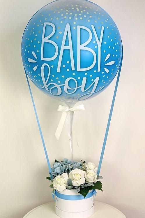 Baby Boy Hot Air Balloon