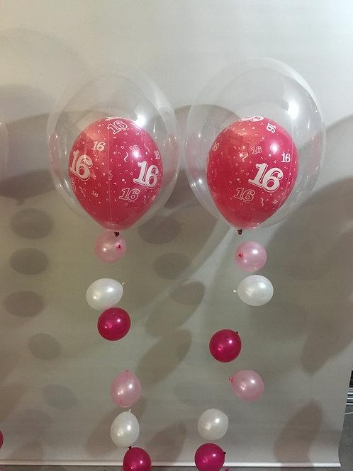 2 x Deco Bubble Strands - Table Centrepiece