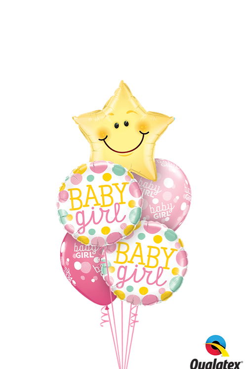 Twinkle Twinkle Baby Girl or Boy Balloon Bouquet