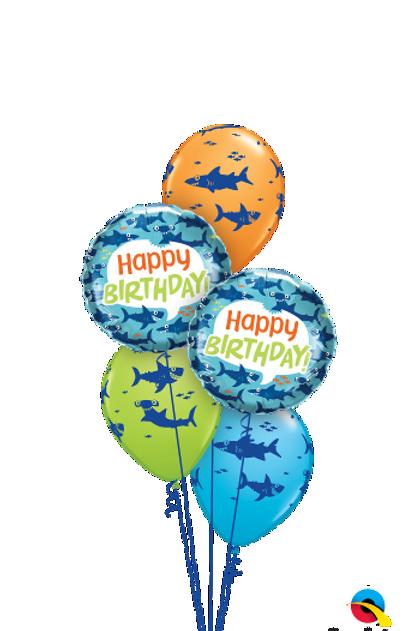 Wishing you a Fin-tastic Birthday Balloon Bouquet