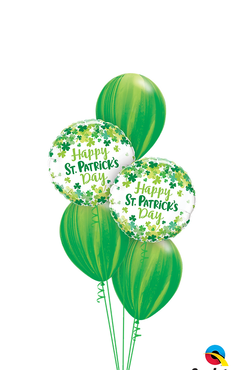 St Patrick's Day Balloon Bouquet