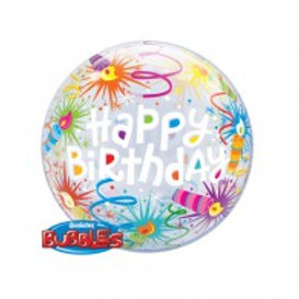 Happy Birthday Balloon in a Box Surprise -3 designs available