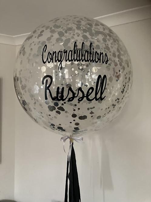Personalised Jumbo Confetti Balloon