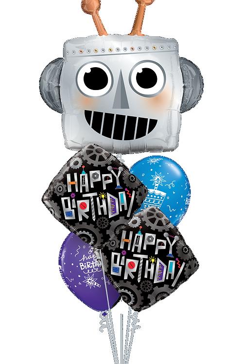 Happy Birthday Humans Balloon Bouquet