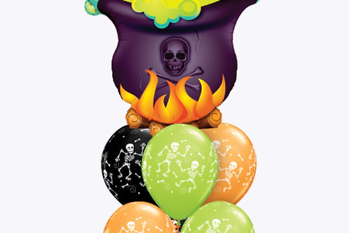 Witch's Brew Bumble Balloon Bouquet