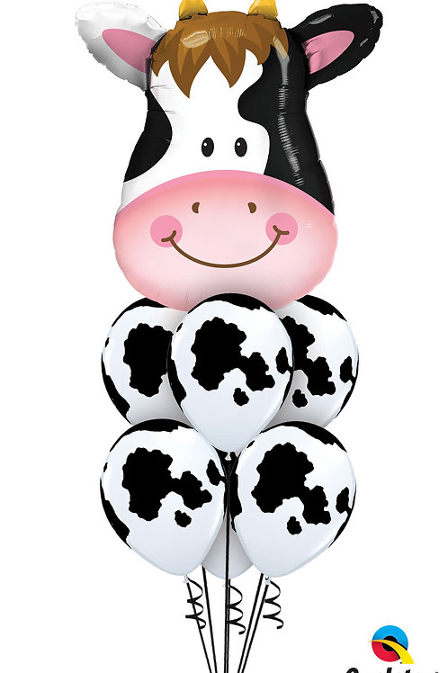 Moo Cow Balloon Bouquet