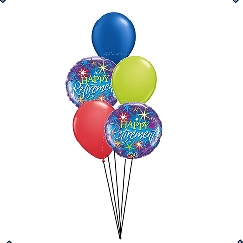 Happy Retirement Balloon Bouquet