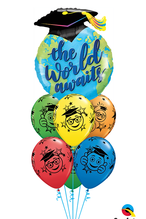 The Best is Yet to Come Balloon Bouquet