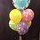Thumbnail: Happy Birthday Spring Flowers Balloon Bouquet