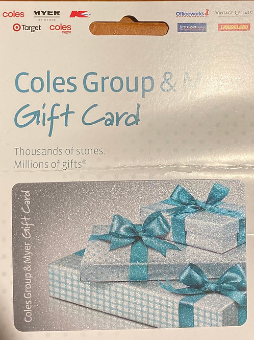 $50 Coles Group Gift Card