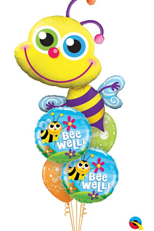 Bee Well Helium Balloon Bouquet
