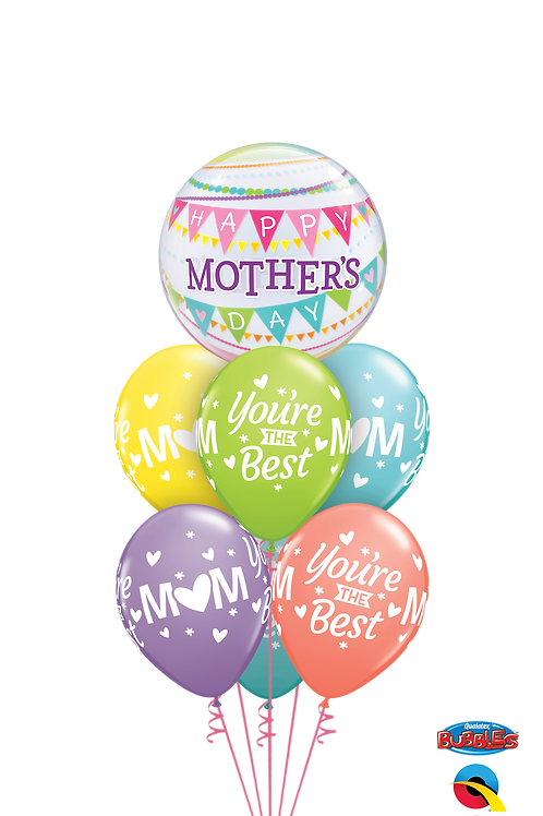 You're the Best Mother's Day Balloon Bouquet