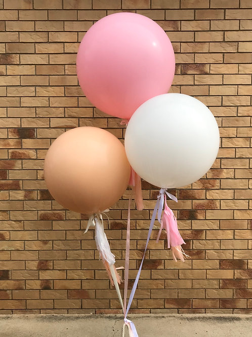 Boho Jumbo Balloon Bouquet