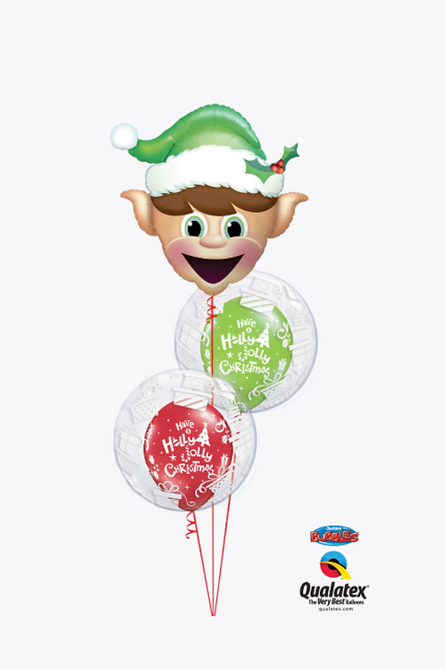 Christmas Elf Balloon Bouquet