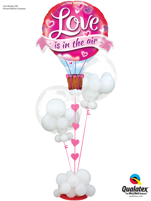 Love is in the Air Balloon Bouquet