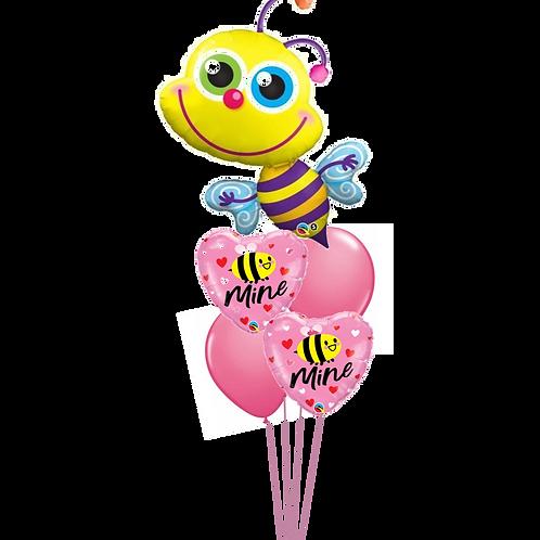 Bee Mine Balloon Bouquet