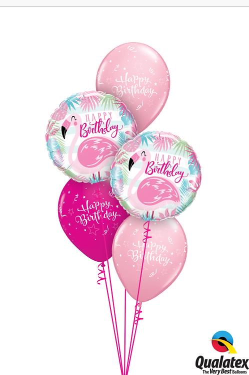 Pink Flamingo & Wild Berry Flamingo Fun Bouquet