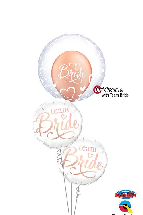 All for the Bride Balloon Bouquet
