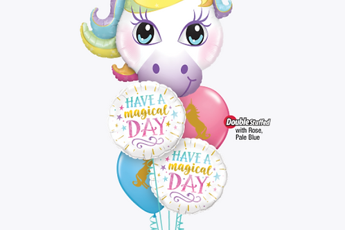 Magical Day Birthday Balloon Bouquet