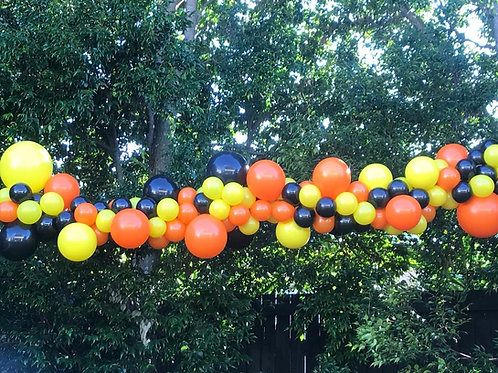 Hang Yourself Med size 3.5m Balloon Garland