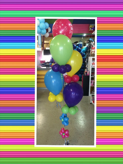Bright Birthday Balloon Bouquet