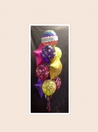 Congratulations Star Surprise Balloon Bouquet