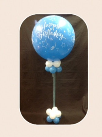 Jumbo Happy Birthday Balloon Bouquet