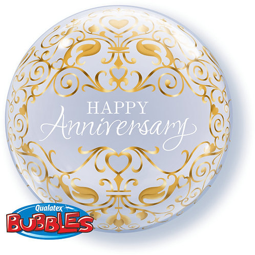Happy Anniversary Balloon in a Box Surprise -