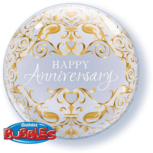 Happy Anniversary Balloon in a Box Surprise -