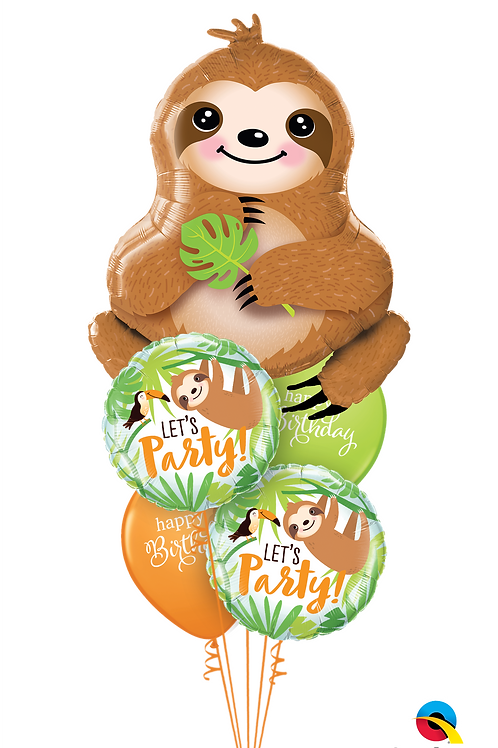 Your'se Slothsome Balloon Bouquet