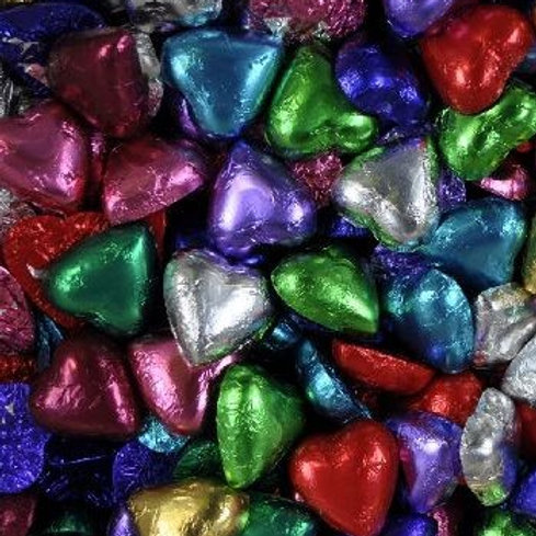 Large Pack of Chocolate Hearts