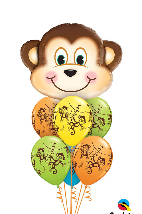 Monkey Fun Balloon Bouquet