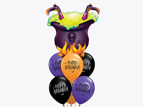 Witch's Brew Balloon Bouquet