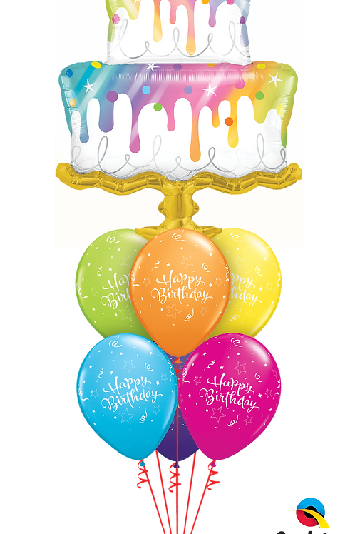 Hope Your Birthday is a Sweet One Balloon Bouquet