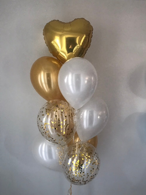Love and Sparkles Balloon Bouquet