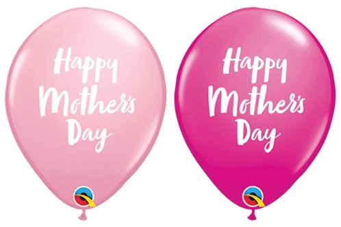 20 x Mother's day Latex Balloons - Helium Filled