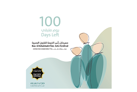 100 days to go till the opening of our 8th Ras Al Khaimah Fine Arts Festival!