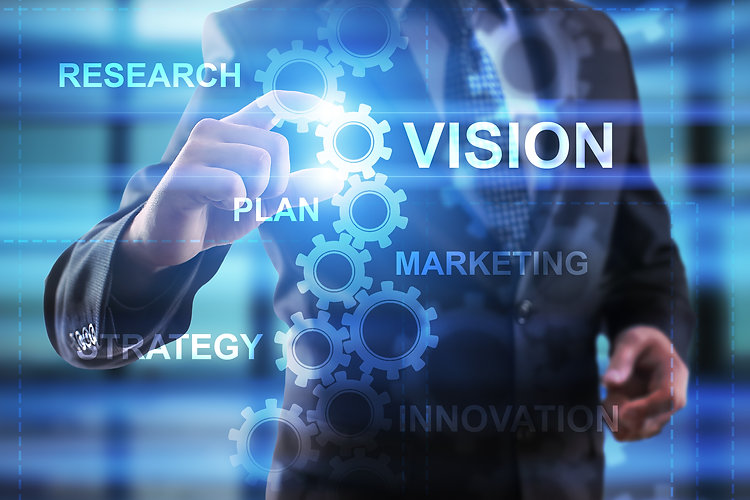 Business, Internet and technology concept.jpg Businessman select Vision.jpg