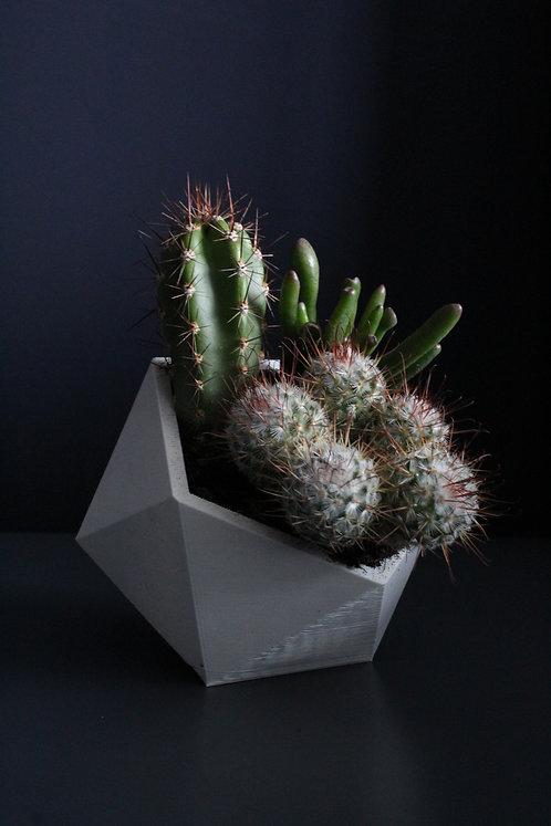 Turned planter