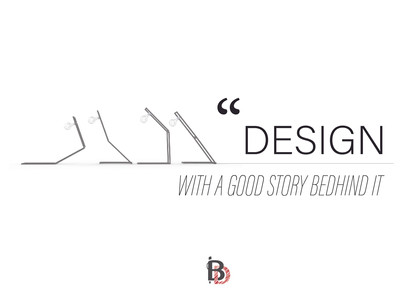DESIGN WITH A STORY