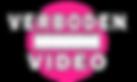 Verboden Video logo transparent back.png