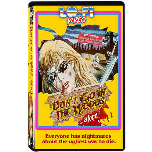 Don't Go In The Woods VHS