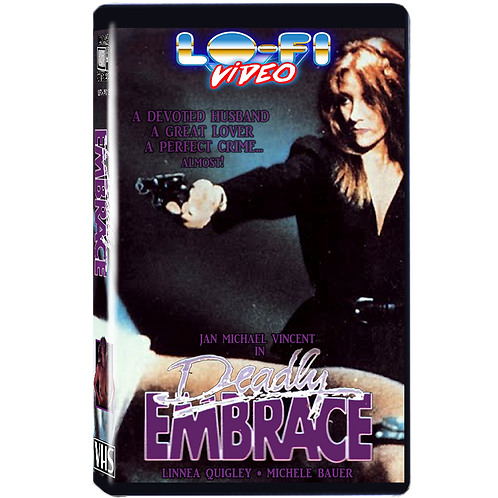 Deadly Embrace VHS