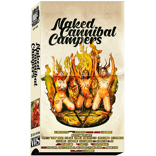 Naked Cannibal Campers VHS