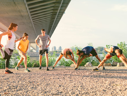 Be an Athlete: Always Train the Body